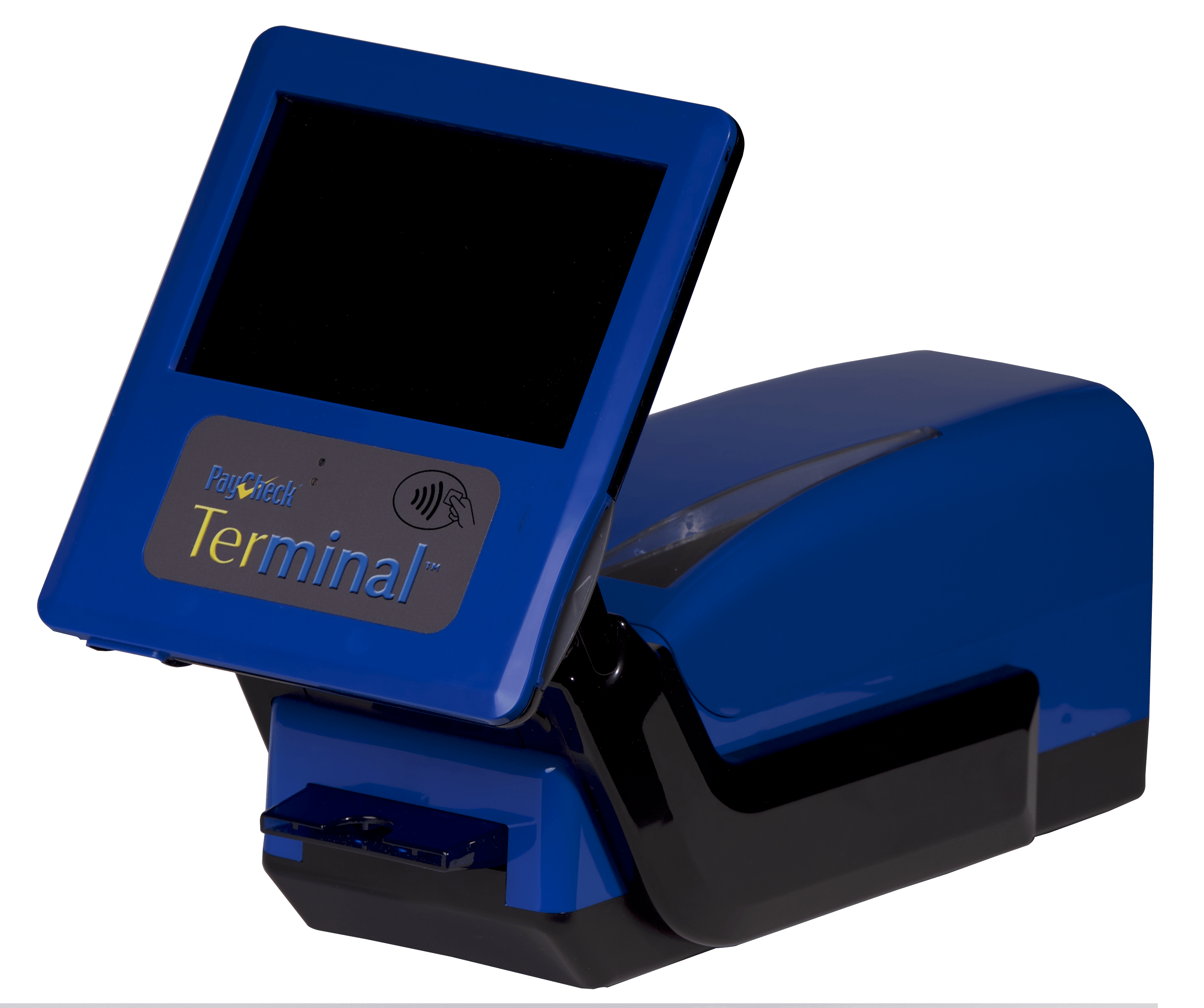 Paycheck Terminal Blue